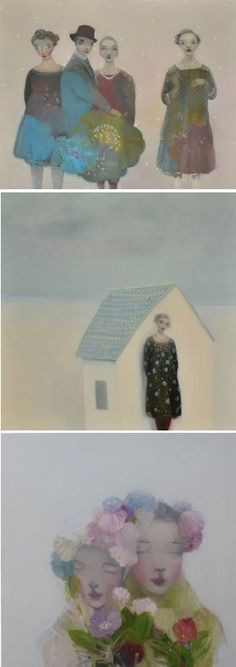New works by Kristin Vestgård, on the blog today. Yay! http://www.artisticmoods.com/kristin-vestgard-ii/