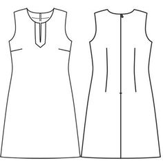 Платье - выкройка № 141 из журнала 2/2011 Burda – выкройки платьев на Burdastyle.ru