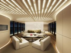 Luxury Private Yacht Charters - Inside Private Yacht and Private Yacht Interior Image Gallery