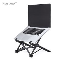 NEXSTAND laptop stehen, falzen, tragbare einstellbar laptop-tisch. pro-büro lapdesk. ergonomische notebook stehen für macbook