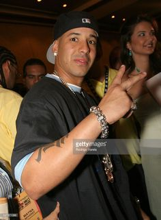 Daddy Yankee during 2005 Billboard Latin Music Awards and Conference - Q&A with Chayanne at Intercontinental Hotel in Miami, Florida, United States.