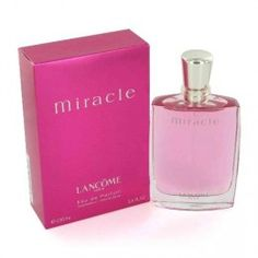 Another Lancome product I like...Miracle.  Mixing it with Magnique will give you a nice, fresh scent for the spring/summer.