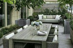 Idea for a little garden or varanda