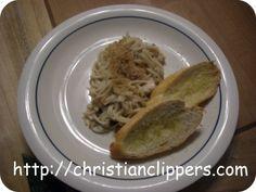 Casserole Recipe: Chicken Tetrazzini