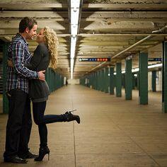 New-York-City-Subway-Engagement-Photos