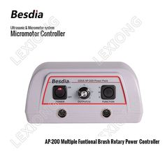 129.00$  Watch here - http://alih5h.worldwells.pw/go.php?t=32773514364 - TAIWAN Besdia Ultrasonic & Micromotor system AP-200 Multiple Funtional Brush Rotary Power Controller