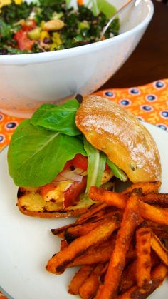 Mountaineer's Proscuitto-Wrapped Chicken Slider with Marinated Quinoa-Kale Salad | awinkandapinch