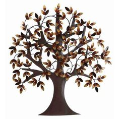 Metal Tree Wall decor For Elite Class decor Enthusiasts, Wall Sculptures, Home Metal Wall Art Decor, Metal Tree Wall Art, Tree Wall Decor, Leaf Wall Art, Metal Art, Branch Decor, Room Decor, Tree Sculpture, Wall Sculptures