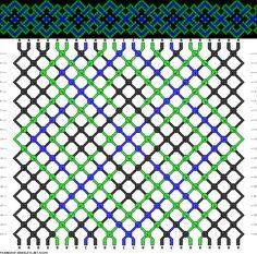 24 strings, 3 colors, 20 rows