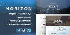 See More Horizon - Responsive Email Templatein each seller & make purchase online for cheap. Choose the best price and best promotion as you thing Secure Checkout you can trust Buy best