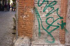 #Green #Trastevere #Street #murales #wall #Rome #Trastevere #corner