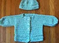 Many free crochet patterns for babies