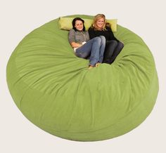 Giant bean bag chair :)  Can I get rid of the couch?