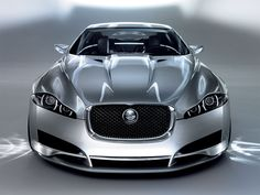 Jaguar XF - This baby has over 500 horsepower depending on the model