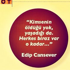 edip cansever ....