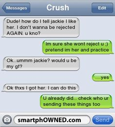 – Relationships – Autocorrect Fails and Funny Text Messages – SmartphOWNE… MAN! – Relationships – Autocorrect Fails and Funny Text Messages – SmartphOWNED Funny Shit, Funny Texts Jokes, Text Jokes, Funny Text Fails, Funny Man, Fake Text Message, Cute Text Messages, Crush Texts, Funny Texts Crush