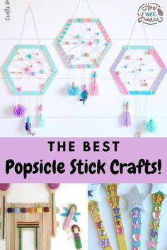 Fun Diy Crafts, Camping Crafts, Easy Crafts For Kids, Craft Activities For Kids, Diy Arts And Crafts, Craft Stick Crafts, Creative Crafts, Craft Sticks, Creative Ideas For Kids
