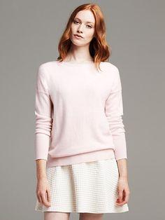Cashmere Drop-Shoulder Pullover Product Image