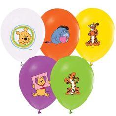 100 lü Winnie the Pooh ve Arkaaşları Baskılı Balon