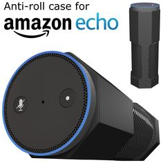 beautyrest black amazon echo case cover stand antiroll silicone accessories by cuvr works with