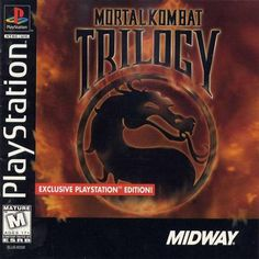 Mortal Kombat Trilogy Sony Playstation