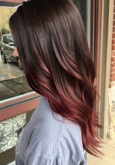 The Hair Color You Must Try If You Love Pink Shades But Hate Bleaching. The chocolate mauve hair shade merges the bold quality of cherry, rosy, pink, magenta, lilac hair tones and dyes with other more subtle tones and elements.