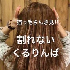 もう悩まない♡猫っ毛さんに似合うヘアアレンジとボリュームを出すコツ大公開! - LOCARI(ロカリ)