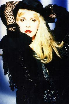 Stevie Nicks in 1991, photo by Herbert Worthington III (source crystallineknowledge on tumblr)