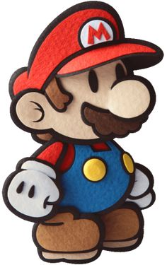 Rendered artwork of characters, enemies, scenes and stickers from Paper Mario Sticker star on the Nintendo Super Mario Bros, Super Mario Kunst, Super Mario Brothers, Super Smash Bros, Mario Bros., Mario And Luigi, Mario Party, Paper Mario Sticker Star, Mario Tattoo