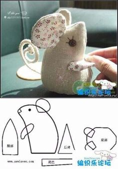 Best 12 65 ideas sewing toys animals mice for 2019 – Page 761882461944113486 Sewing Toys, Sewing Crafts, Sewing Projects, Free Sewing, Mouse Crafts, Felt Crafts, Pet Toys, Doll Toys, Pet Mice