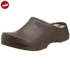 ALPRO Jolly Fashion Damen Clogs PU, Grün, Größe 41 mit normalem Fußbett