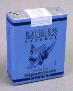 Gauloises Caporal filtre - années 60 - Expolore the best and the special ideas about Smokers