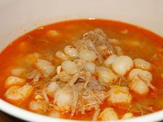 Easy to Make Mexican Pozole Soup | A Cowboy's Wife Pozole, Thai Red Curry, Soup, Mexican, Soups