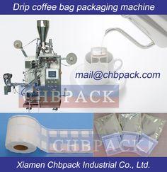 Drip coffee bag packaging :Xiamen CHBPACK Industrial Co., Ltd. Packaging Machine, Bag Packaging, Xiamen, Drip Coffee, Packing, Tea, Bags, High Tea, Purses