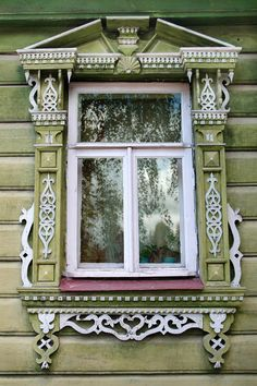 Decorative Russian Window. Woodwork. Dacha by AlenovPhotography - My Woodworking Shed