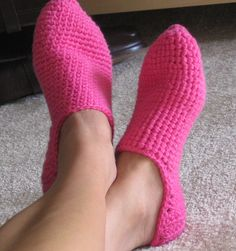 turkish crochet slippers