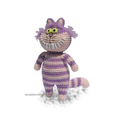 The Cheshire Cat from Alice in Wonderland (Click for the $4.99 pattern)