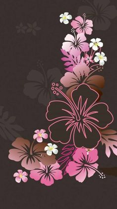 Flower Phone Wallpaper, Butterfly Wallpaper, Love Wallpaper, Cellphone Wallpaper, Colorful Wallpaper, Mobile Wallpaper, Iphone Wallpaper, Flower Backgrounds, Wallpaper Backgrounds