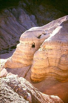 The magnificent Qumran Caves, home, of course, to the amazing Dead Sea Scrolls!  Read more: http://modo.ly/1JWpPXK