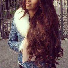 Love this hair!! I want auburn hair so badly!!! @Amanda Snelson Gnatek @Tien Nguyen le @Kierra Holbert Chase