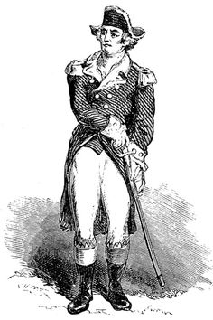 Ethan Allen - one of the founding fathers of the State of Vermont and Revolutionary War patriot, hero, politician.  He helped capture Fort Ticonderoga early in the Revolutionary War.