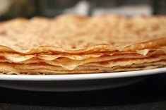 """Learn to make authentic Tuscan recipes on a culinary vacation in Tuscany with TIK - such as these fabulous chestnut flour crepes called """"necci. Tuscan Recipes, Irish Recipes, Sweet Recipes, Thermomix Desserts, Ww Desserts, Bread Without Yeast, Yeast Starter, Crepe Batter, Batter Recipe"""