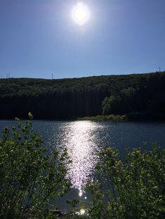 Mt Tom Reservoir #sunsetting #water #walkphotography