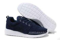 http://www.jordanabc.com/nike-roshe-run-suede-mens-dark-blue-white-shoes.html NIKE ROSHE RUN SUEDE MENS DARK BLUE WHITE SHOES Only $74.00 , Free Shipping!