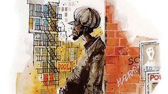 The genius of Indian cartoonist Mario Miranda Miranda Bbc, Mario Miranda, Connected Life, Comic Drawing, His Travel, Bbc News, Artist At Work, Illustrators, Art Gallery