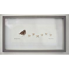 """Pecking Order"" Art for childrens rooms"