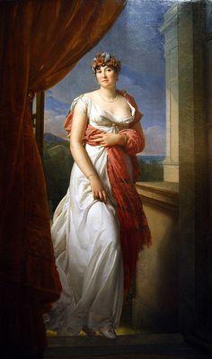 François Gérard's Portrait de Madame Tallien, 1804