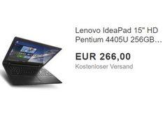 """SSD-Notebook: Lenovo IdeaPad 110-15ISK ohne OS für 266 Euro frei Haus https://www.discountfan.de/artikel/technik_und_haushalt/ssd-notebook-lenovo-ideapad-110-15isk-ohne-os-fuer-266-euro-frei-haus.php Mit dem Lenovo IdeaPad 110-15ISK ist bei Ebay jetzt als """"Wow! des Tages"""" ein Einsteiger-Notebook mit 256 GByte großer SSD zum Schnäppchenpreis von 266 Euro mit Versand zu haben. Ein Betriebssystem ist allerdings nicht vorinstalliert. SSD-Notebook: Lenovo IdeaPad"""
