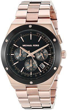 Michael Kors para mujer MK6208Reagan analógico de cuarzo oro rosa reloj