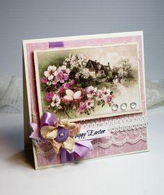 Easter Card Handmade Card Greeting Card 5.25 x by CardInspired